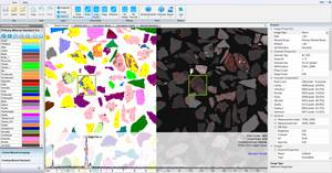 AMICS Software: Particle Images with BSE