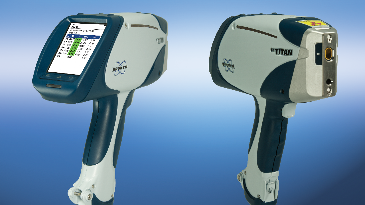 S1 TITAN Handheld XRF analyzer