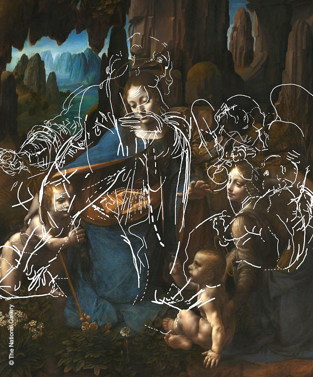 "Evolution of a Masterpiece: Da Vinci's ""Virgin of the Rocks"": Combining XRF, IRR and HSI to reveal the earlier, abandoned composition"