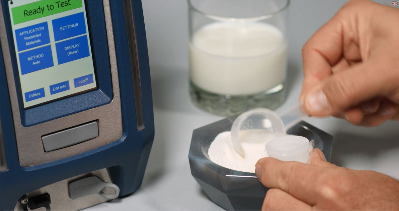 CTX powered milk analysis
