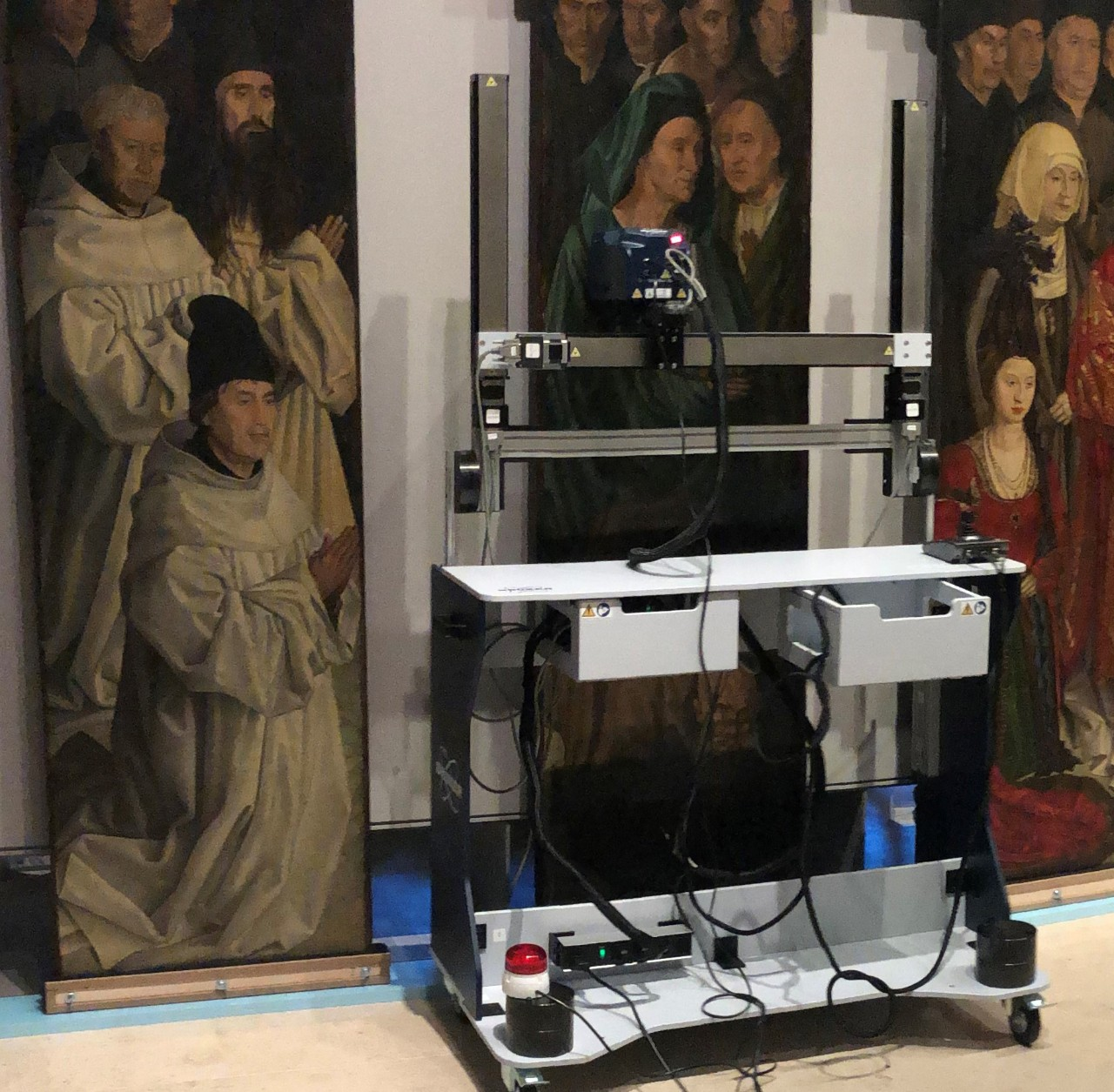 Mobile Analytical Solutions for Art Conservation and Archaeometry