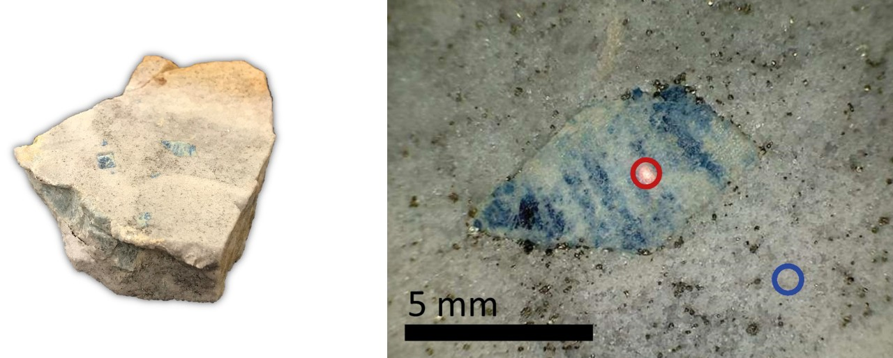 In-Situ Study of Lazulite from Graves Mountain, Georgia, USA