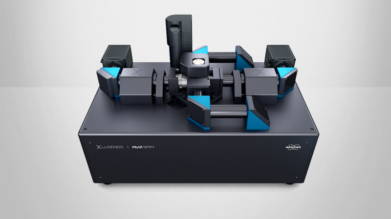 The multiview light-sheet microscope for cleared sample imaging.