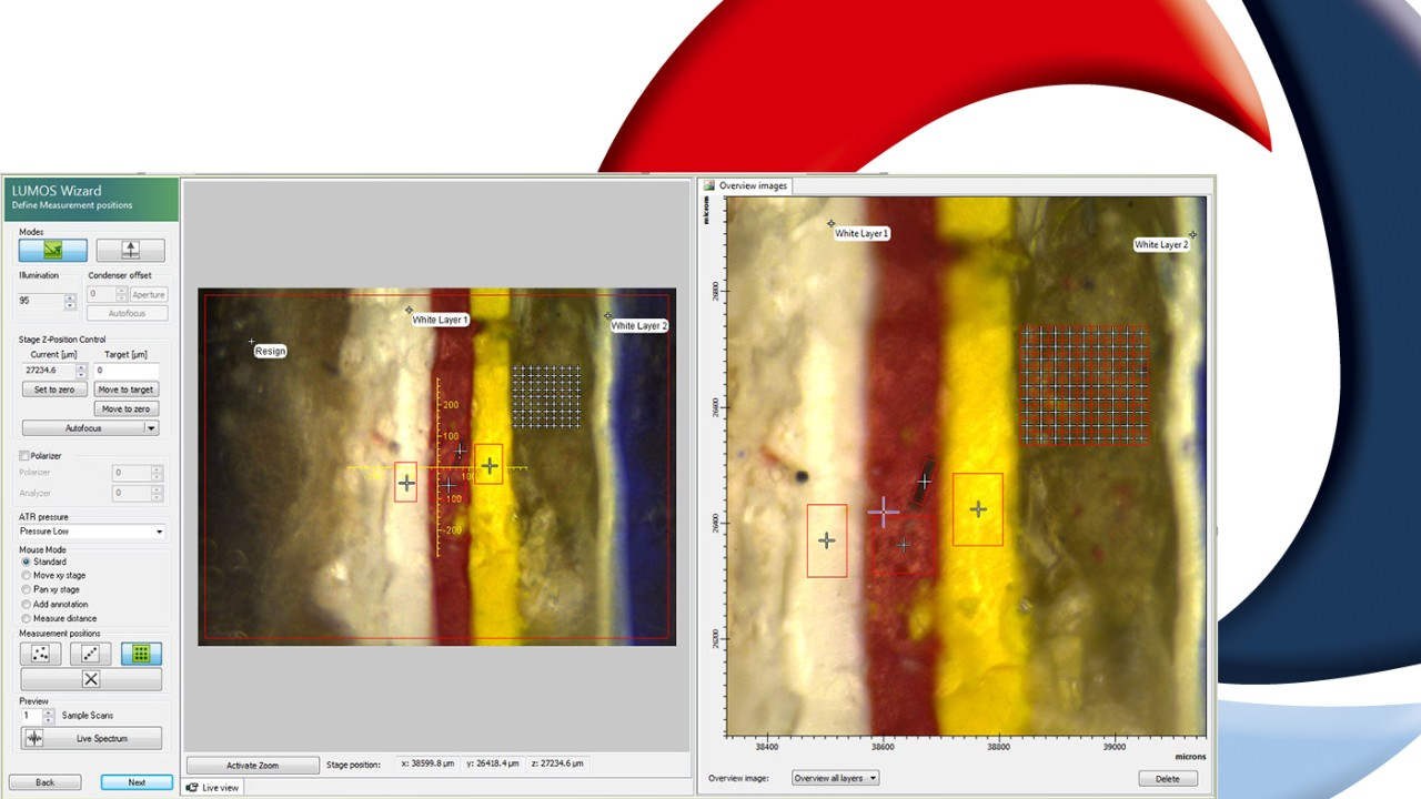 Screen shot OPUS software video and 3D