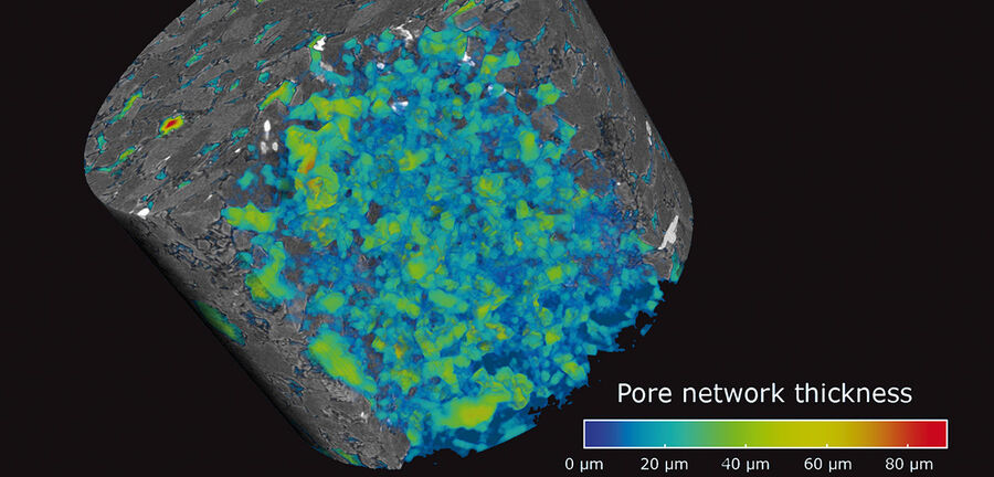 Pore Size Distribution with Micro-CT
