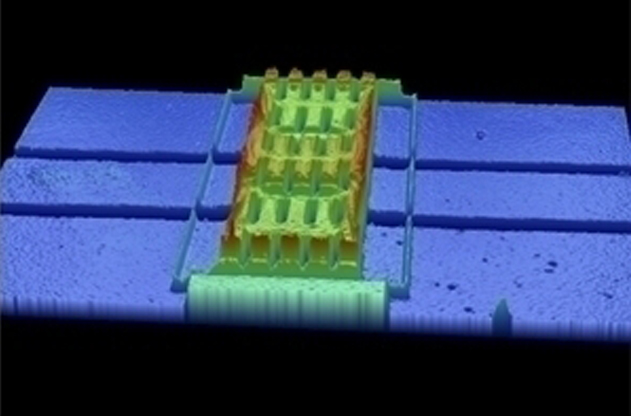 3D dataset of the intact MEMS device