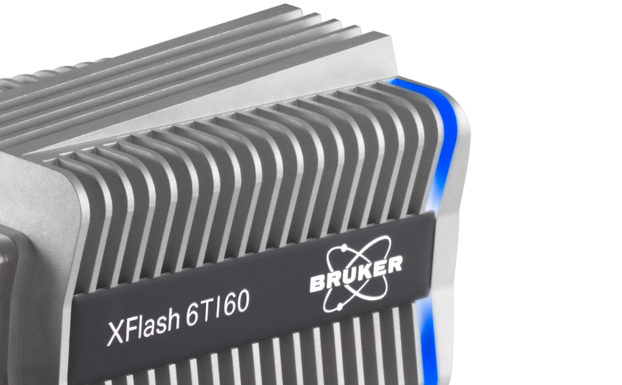 The XFlash 6T-60 detector endcap and shutter